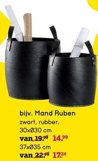 Mand ruben-Huismerk - Leen Bakker