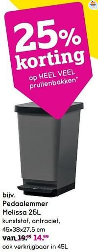 Pedaalemmer melissa-Huismerk - Leen Bakker