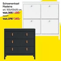 Schoenenkast madeira-Huismerk - Leen Bakker