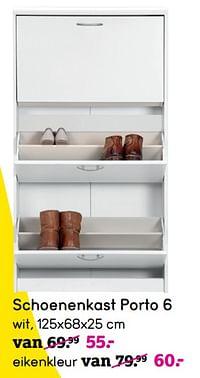 Schoenenkast porto 6-Huismerk - Leen Bakker
