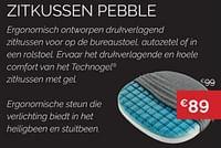 Zitkussen pebble-Technogel Sleeping