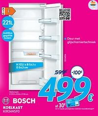 Bosch koelkast kir24nsf0-Bosch