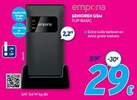 Emporia senioren gsm flip basic-Emporia