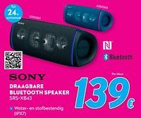 Sony draagbare bluetooth speaker srs-xb43-Sony