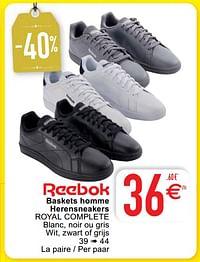 Baskets homme herensneakers royal complete-Reebok