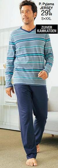 Pyjama jersey-Huismerk - Damart