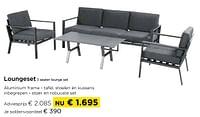 Loungeset 3 seater lounge set-Huismerk - Molecule