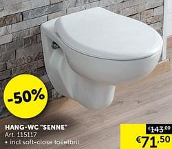 Hang-wc senne