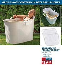 Nekkussen wit voor bath bucket-Huismerk - Zelfbouwmarkt