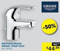 Wastafelkraan grohe start eco-Grohe
