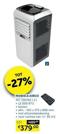 Profile mobiele airco-Profile