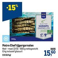Metro chef tijgergarnalen-Huismerk - Makro