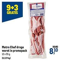 Metro chef droge worst-Huismerk - Makro
