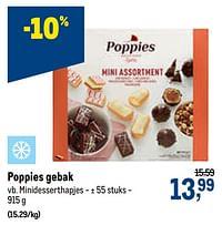 Poppies gebak minidesserthapjes-Poppies