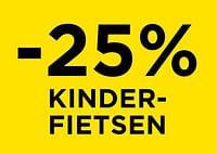 -25% kinderfietsen-Huismerk - Molecule
