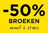 -50% broeken vanaf 2 stuks-Huismerk - Molecule