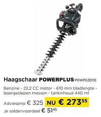 Powerplus haagschaar powpg30110-Powerplus