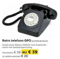 Retro telefoon gpo verschillende kleuren-GPO