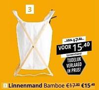 Linnenmand bamboe-Huismerk - Ygo