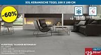 Vloertegel ecuador betongrijs-Huismerk - Zelfbouwmarkt