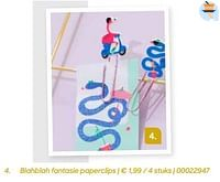 Blahblah fantasie paperclips-Blahblah