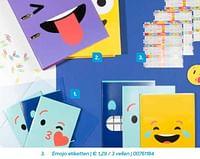Emojo etiketten-Emoji