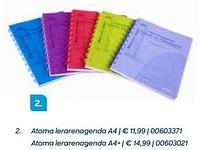 Atoma lerarenagenda a4-Aurora
