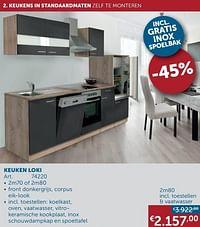 Keuken loki-Huismerk - Zelfbouwmarkt