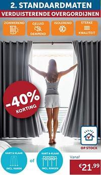 Raamdecoratie standaardmaten-Huismerk - Zelfbouwmarkt