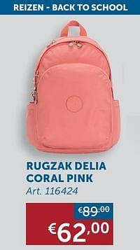 Rugzak delia coral pink-Huismerk - Zelfbouwmarkt
