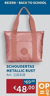 Schoudertas metallic rust-Huismerk - Zelfbouwmarkt