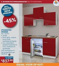 Studentenkeuken-Huismerk - Zelfbouwmarkt