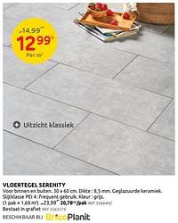 Vloertegel serenity-Huismerk - Brico