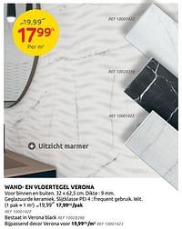 Wand- en vloertegel verona-Huismerk - Brico