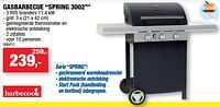Gasbarbecue spring 3002-Barbecook