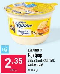 La laitière rijstpap-Nestlé