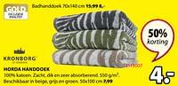 Horda handdoek-Kronborg