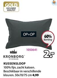Kussensloop-Kronborg