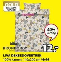 Liva dekbedovertrek-Kronborg
