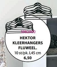 HEKTOR KLEERHANGERS FLUWEEL-Huismerk - Jysk
