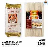 Jasmijn rijst of rijstnoedels-Huismerk - Xenos
