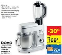 Domo elektro keukenrobot + blender do9231kr-Domo elektro