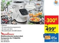 Moulinex multifunctionele keukenrobot companion xl yy4621fg-Moulinex