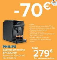 Philips espressomachine ep1220-00-Philips