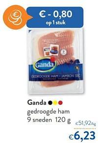 Ganda gedroogde ham-Ganda