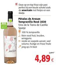 Pétalos de aresan tempranillo rosé 2020-Rosé wijnen