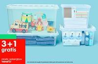 Plastic opbergbox-Huismerk - Hema