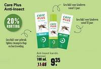Care plus anti-lnsect icaridin aerosol-Care Plus