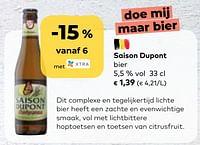 Saison dupont bier-Saison Dupont