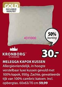 Melegga kapok kussen-Kronborg
